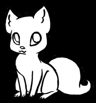Realistic Kitten Drawing
