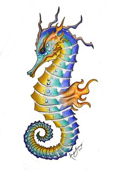 236x347 Best Seahorse Drawing Images In Drawings, Seahorse