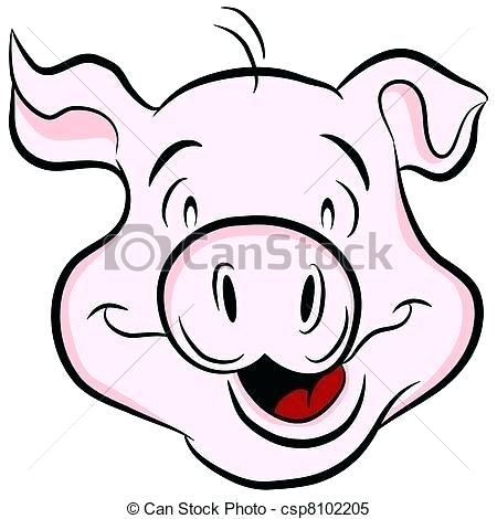 450x470 pig head drawing how to draw a simple pigs head dead pig head
