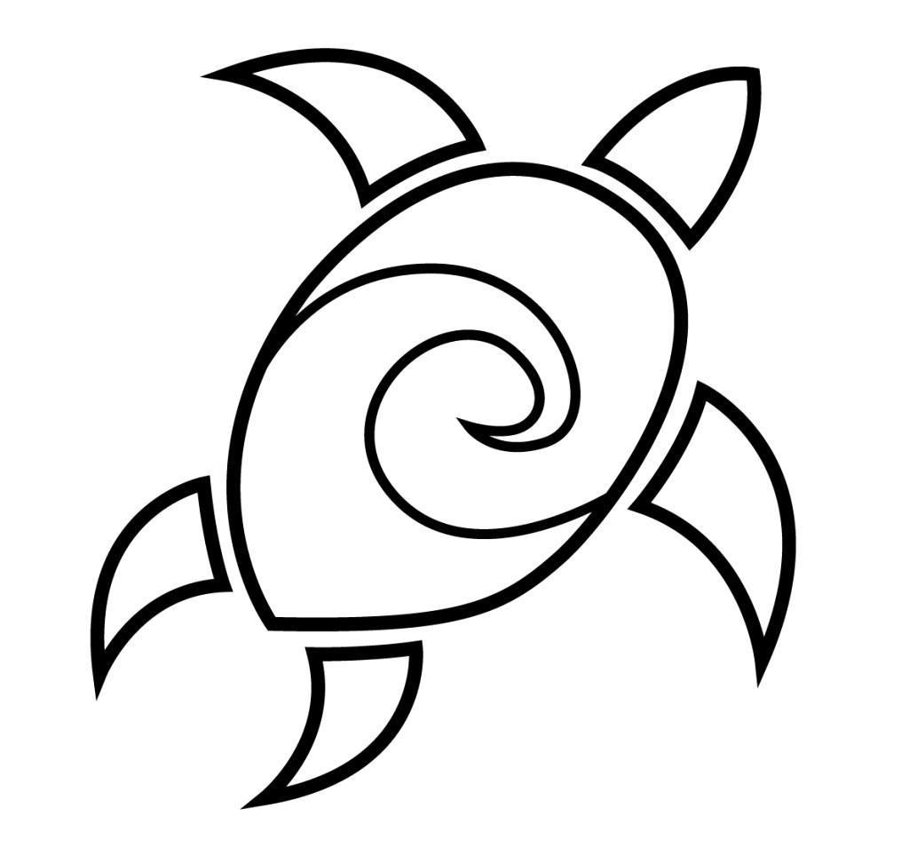 1024x955 Realistic Sea Turtle Drawing Drawings