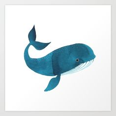 Realistic Whale Drawing