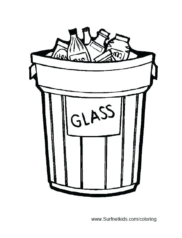 609x798 recycling coloring pages recycling coloring