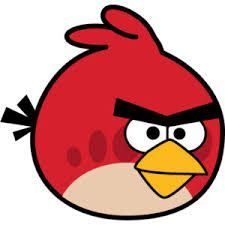 Red Angry Bird Drawing