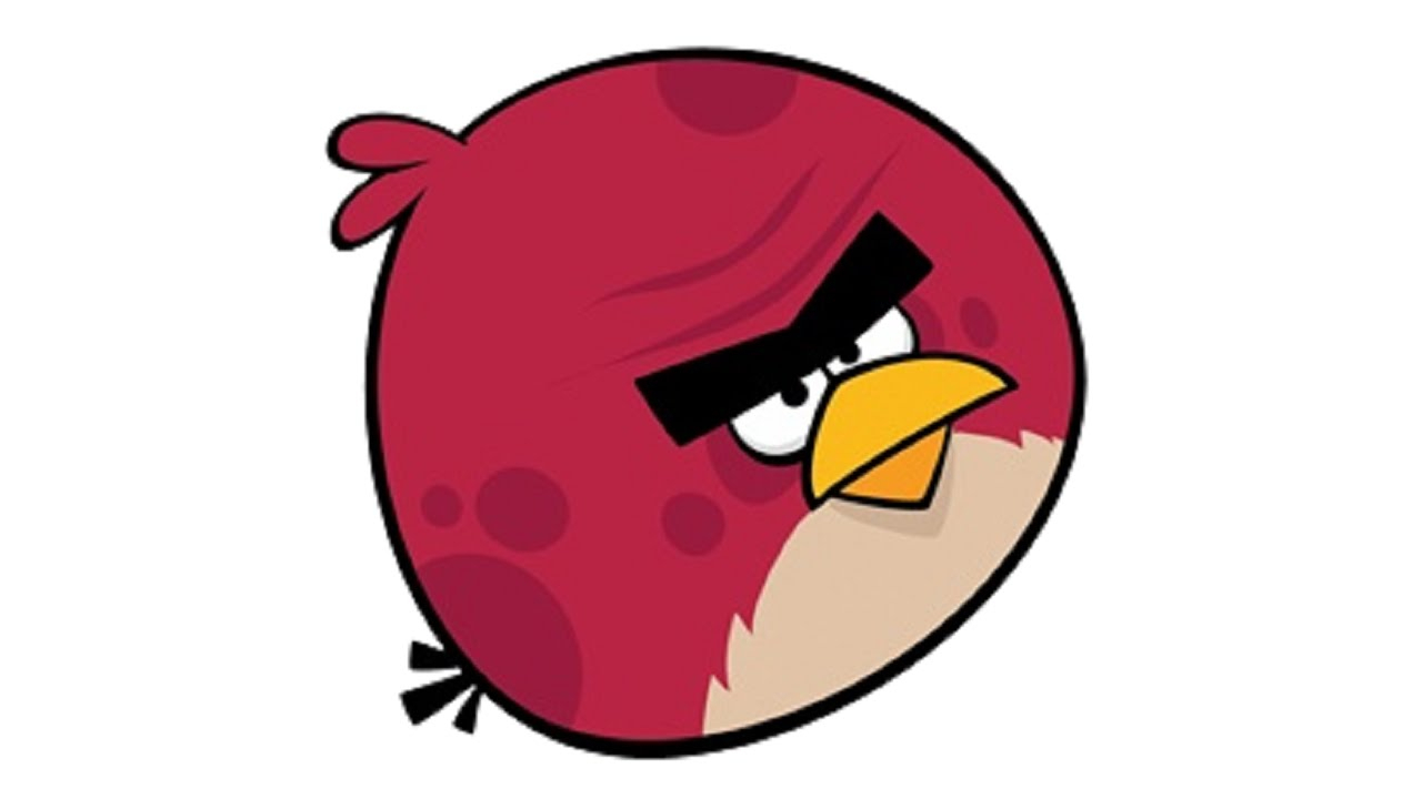 1280x720 Drawing Of Angry Birds How To Draw An Angry Bird Stepstep