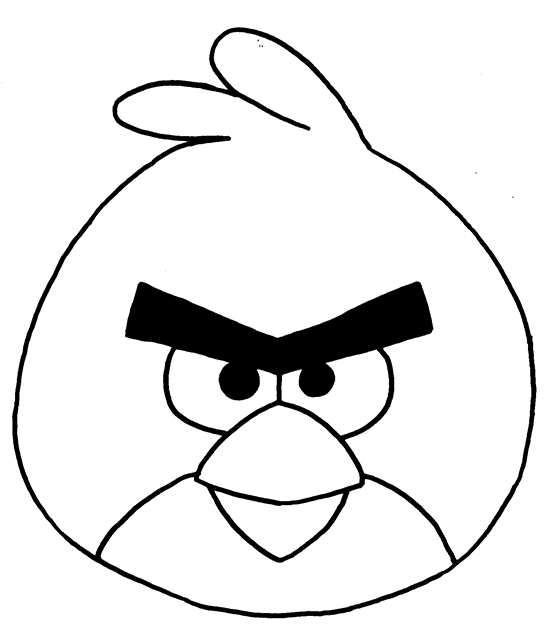 550x642 How To Draw The Red Angry Bird How To Draw That Rocks That