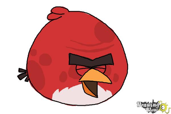 600x400 How To Draw Angry Bird Terence, Big Brother Bird