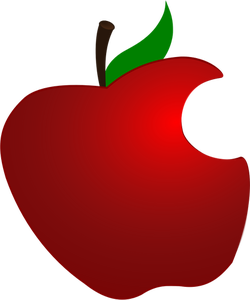 Red Apple Drawing