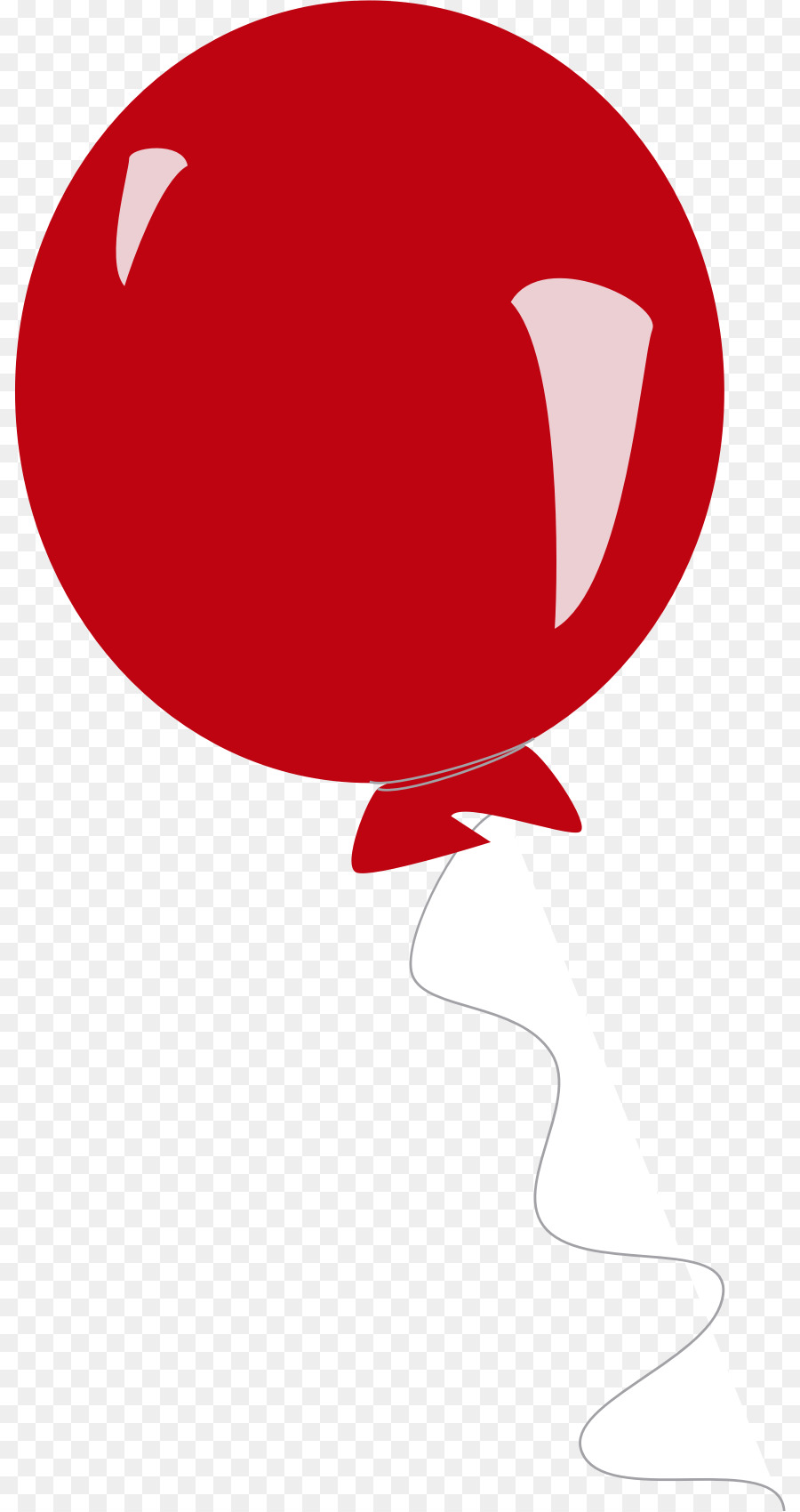 900x1700 Balloon, Drawing, Red, Transparent Png Image Clipart Free Download