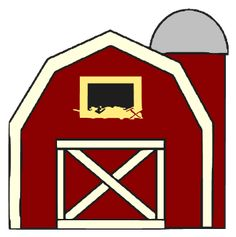 Red Barn Drawing