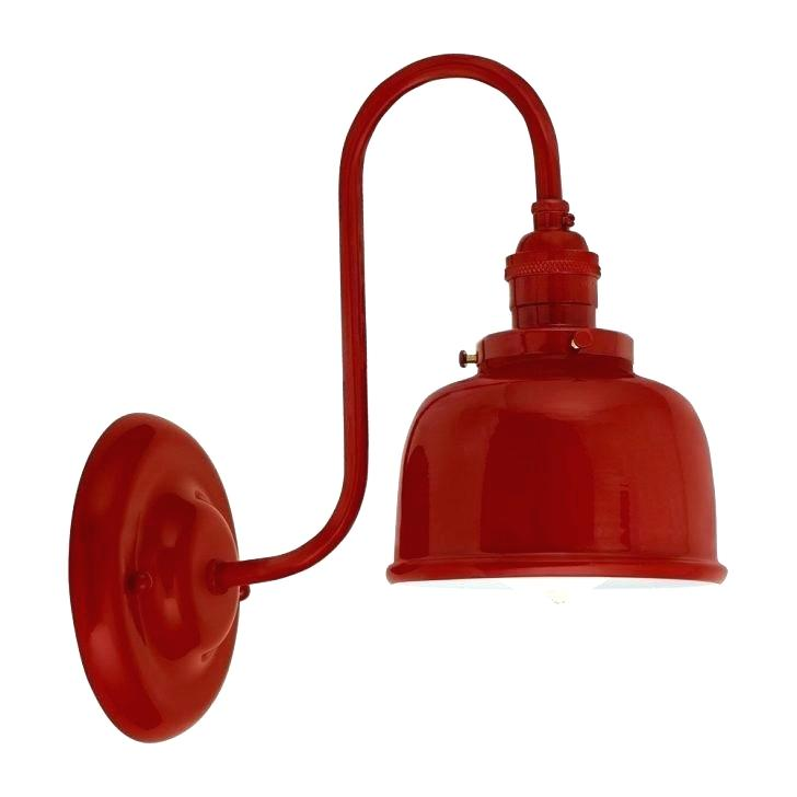 728x728 Barn Lights In Bright Red Draw Attention To Restaurant Light Buck