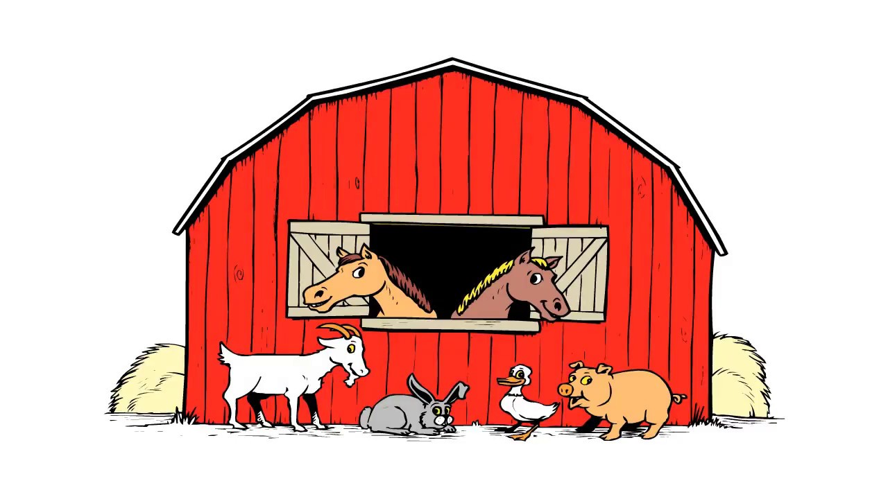 1280x720 How To Draw A Barn