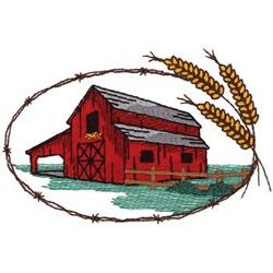 250x250 Red Barns Designs For Embroidery Machines