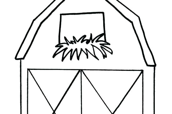550x365 barn coloring pages red barn coloring