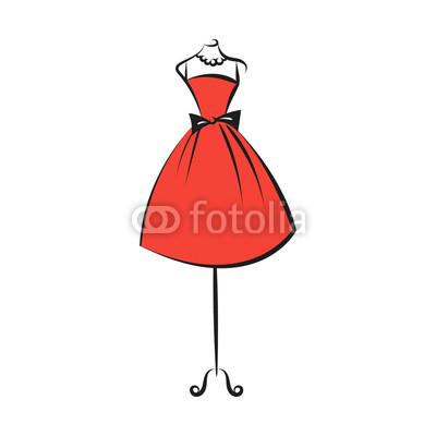 400x400 Dummy Dress Hand Drawing Illustration Vector Buy Photos Ap