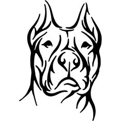 Red Nose Pitbull Drawings