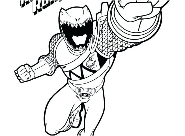 728x536 Power Rangers Dino Charge Coloring Pages Pdf Thunder Colouring