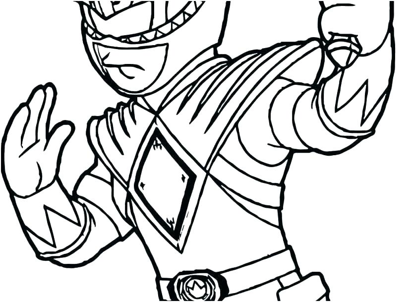 827x609 Power Rangers Mask Coloring Pages Ranger How To Draw