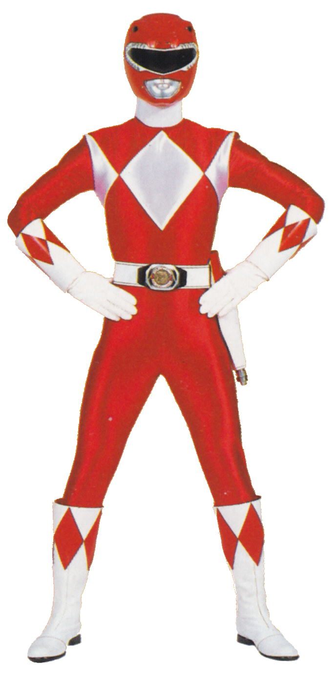 688x1400 Red Power Ranger Transparent Png Clipart Free Download