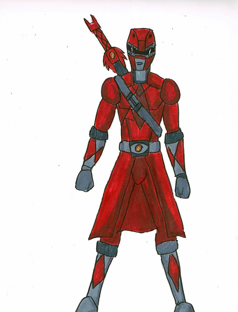 781x1023 Day Challenge Red Fantasy Power Ranger