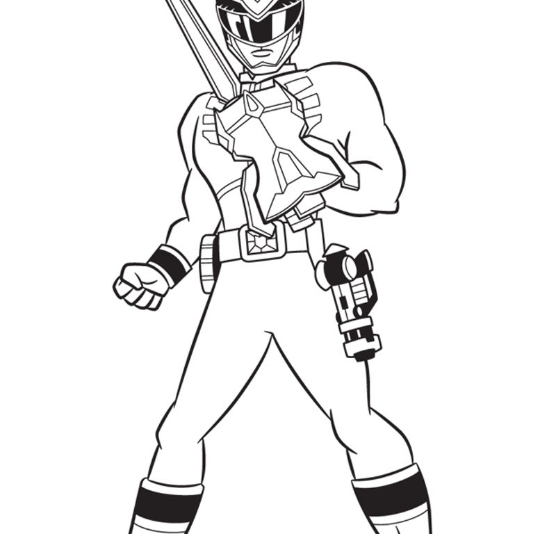 800x768 Coloring Power Ranger Pages And P Fearsome Colouring Rangers Ninja