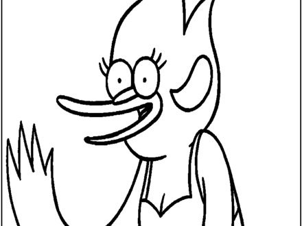 440x330 regular show coloring pages, regular show coloring pages