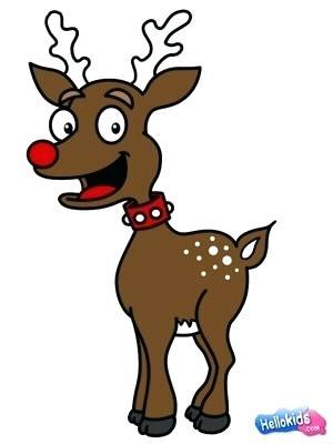 300x400 reindeer draw how to draw reindeer reindeer antlers drawing easy