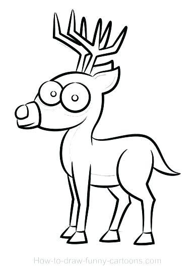 387x547 reindeer drawings reindeer reindeer directed drawing steps