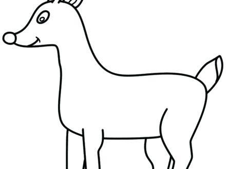 440x330 how to draw rudolph the red nosed reindeer draw the red nosed