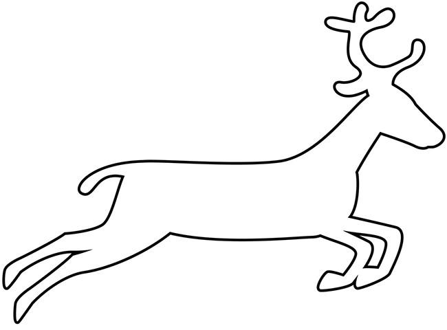 graphic regarding Printable Reindeer Pattern titled Reindeer Drawing Template Absolutely free down load least difficult Reindeer