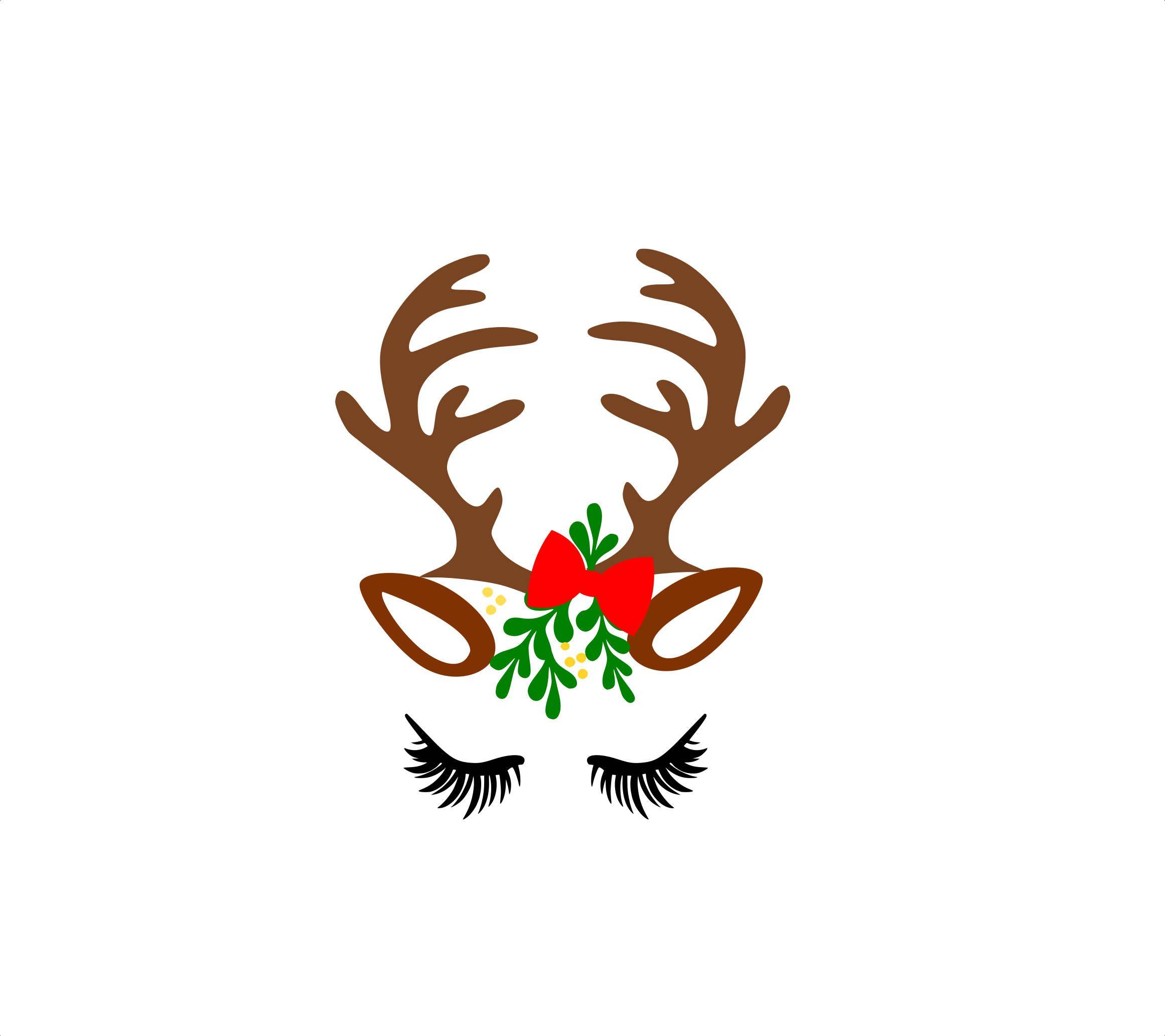 2322x2065 reindeer face reindeer files, christmas reindeer, face