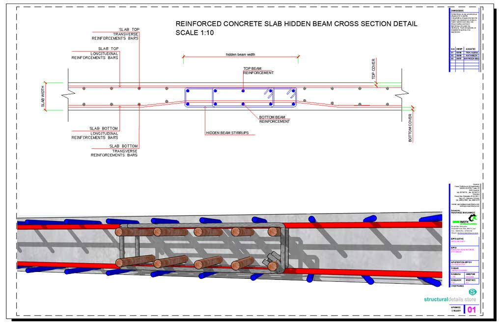 Reinforced Concrete Stairs Detail Drawing   Free download