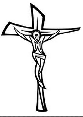 276x388 Jesus And The Cross Image Free Vector Ash Wednesday To Pentecost