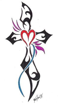 236x424 Free Religious Clip Art Line Drawings Heart