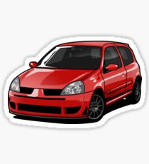 210x230 Renault Clio Drawing Stickers Redbubble