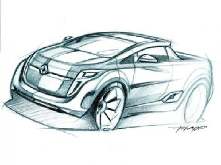 720x539 Renault Pick Up Pencil Sketch Tutorial