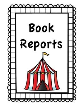 270x350 circus theme book report teachers pay teachers circus theme