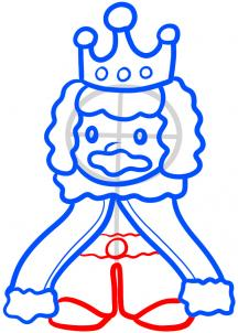 216x302 How To Draw How To Draw A King For Kids