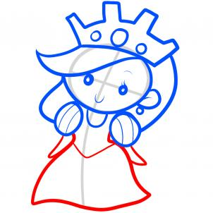 302x302 How To Draw How To Draw A Queen For Kids