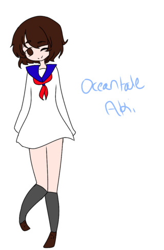 320x489 Oceantale Aki I'll Draw The Rest And Post 'em Tomorrow
