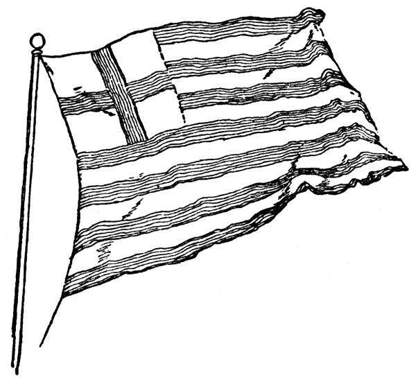 600x551 Revolutionary War Flags