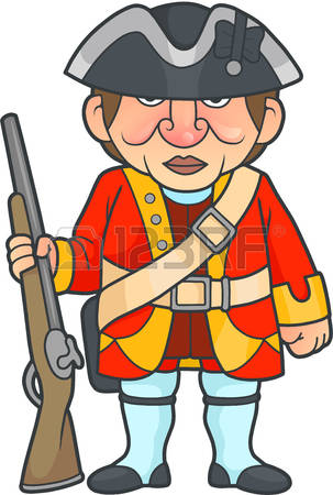 303x450 Soldier Clipart Revolutionary War