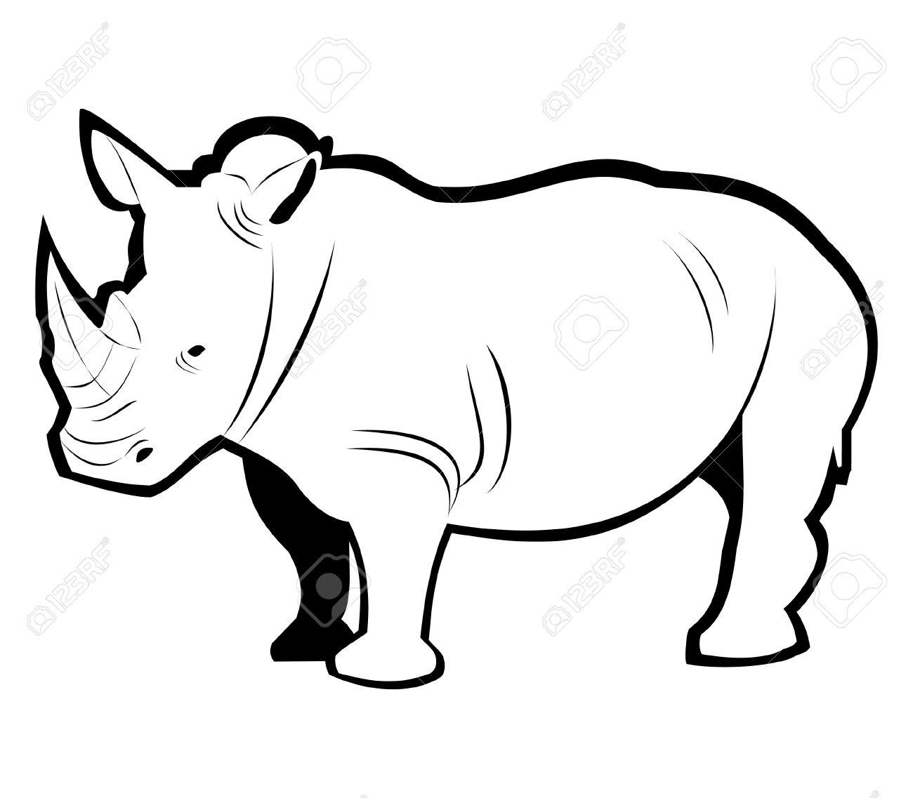 Rhino Drawing | Free download best Rhino Drawing on
