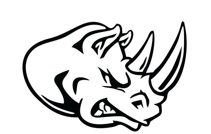 720x457 how to draw a rhino angry cartoon rhino angry rhinoceros rhino