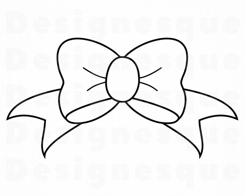 794x635 bow outline bow tie ribbon bow clipart bow etsy
