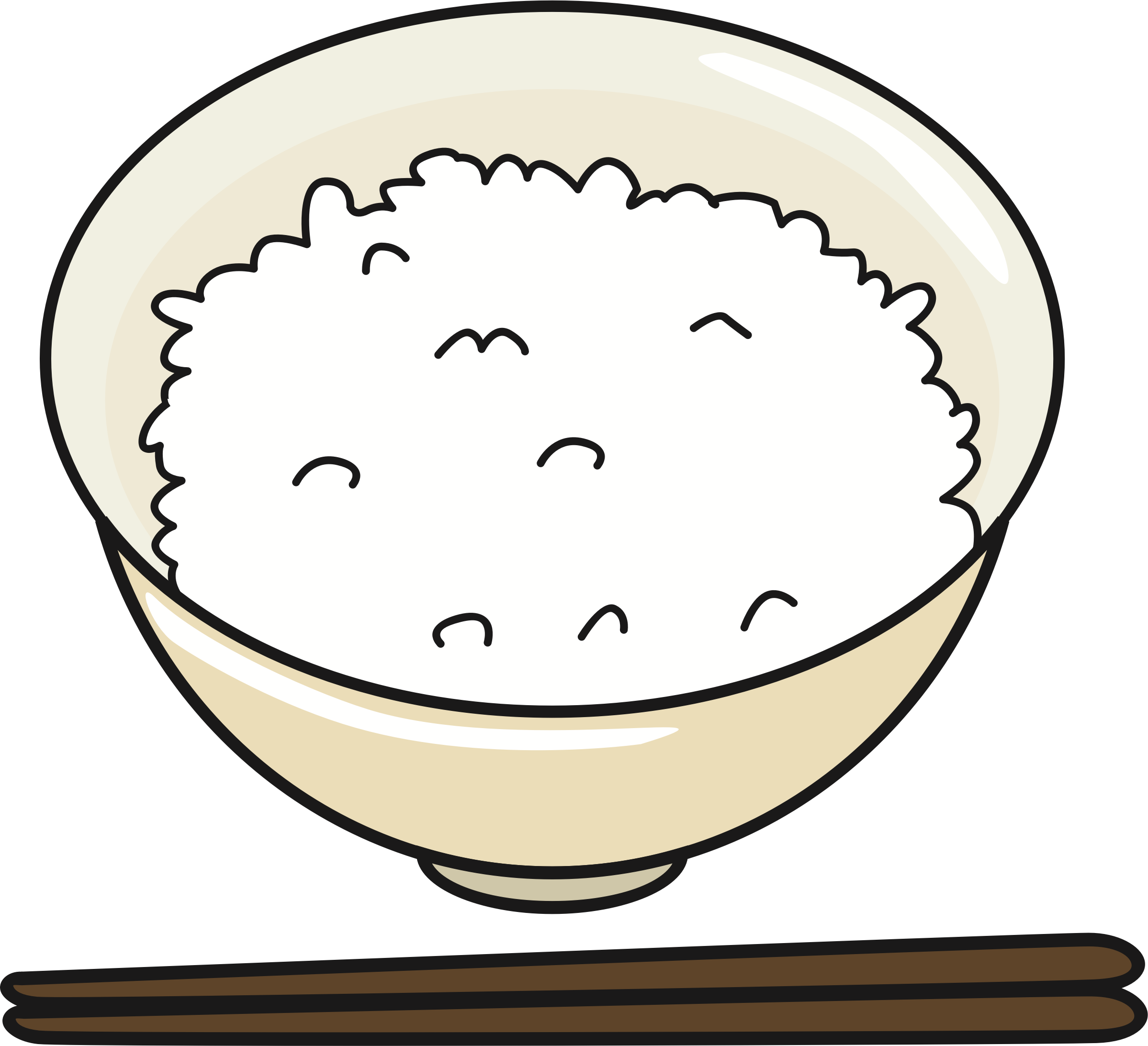 Rice Drawing
