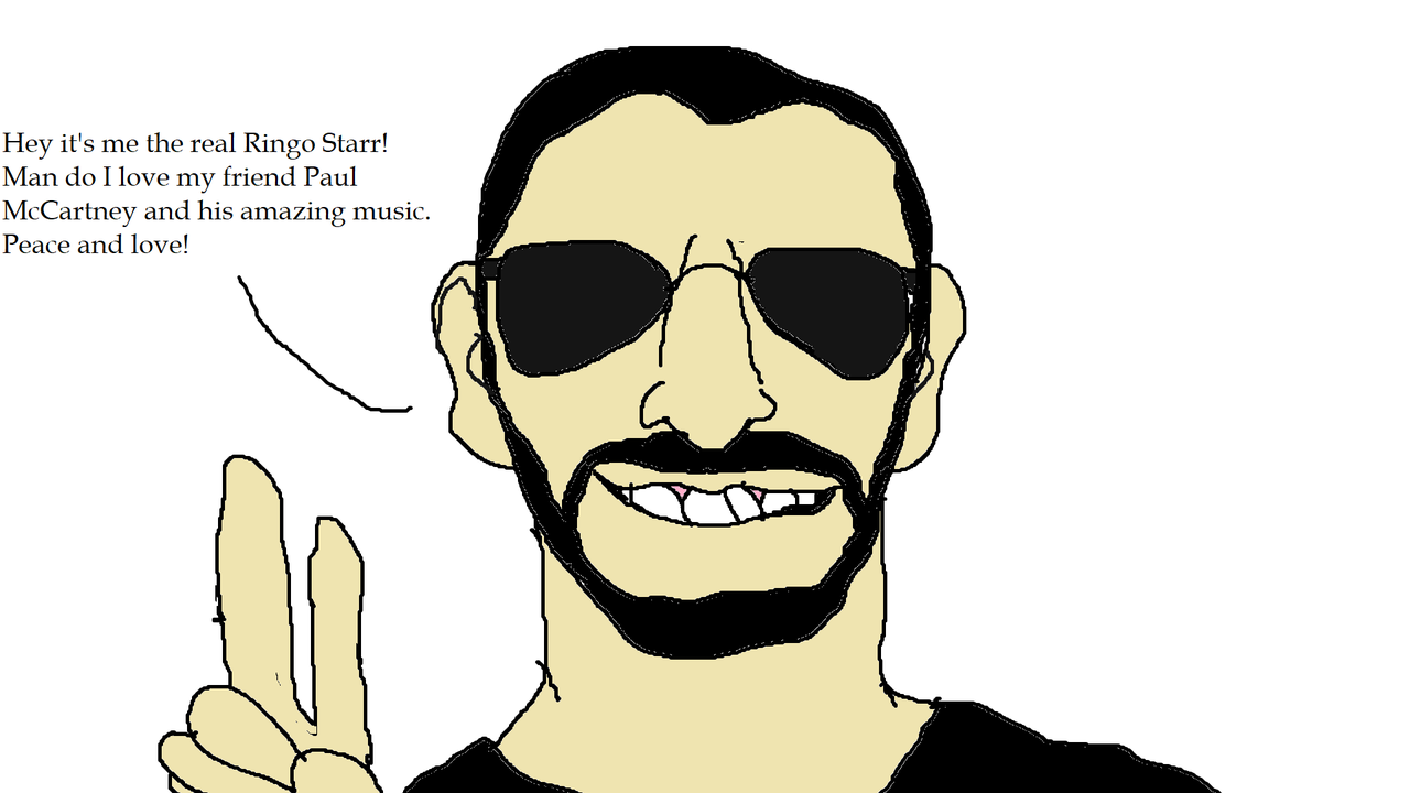 1280x720 Ringo Starr's Fan Art
