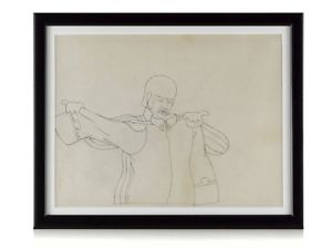 300x225 Original Beatles Drawing Ringo Starr Yellow Submarine Ebay