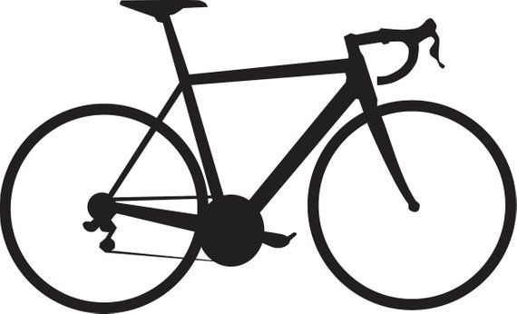570x346 road bike decal products bicycle tattoo, road bike, bike tattoos