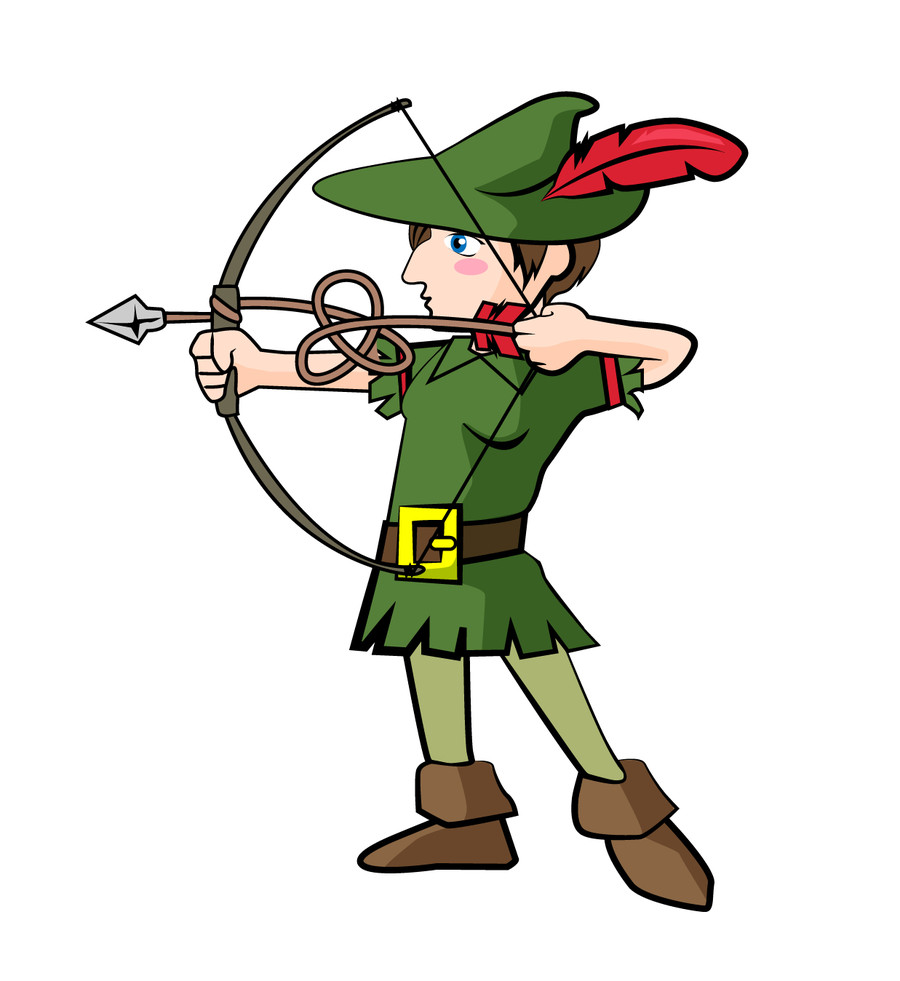 Robin Hood Drawing | Free download on ClipArtMag