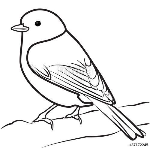 500x493 image result for bird outline bird outline bird drawings, bird